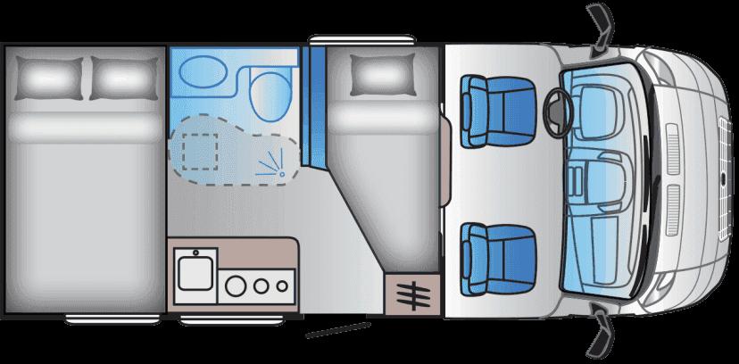 Camper Lido S 60 SP